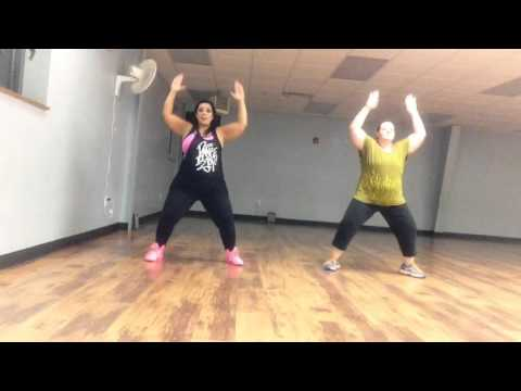 """Pitbull feat. Lil' Jon - Krazy. Zumba toning arm routine"