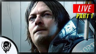Death Stranding Live Playthrough Part 1 - Let's Birth This Thing!!