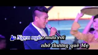 KARAOKE - MƯA TRÊN QUÊ HƯƠNG ( LƯU QUANG BÌNH ft BÍCH PHƯỢNG)