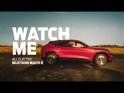 Mustang Mach-E All Electric  Watch Me  -Ford Blu center Avellino
