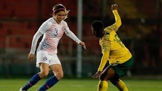 Chile 2 - 2 Sudáfrica | Amistoso 2018 | partido 2 | Fútbol femenino