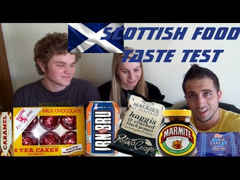 Scottish Food Taste Test