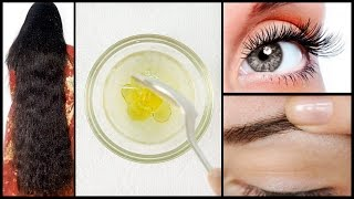 Grow Hair Super Faster | Get Thicker Eyebrows & Long Eyelashes