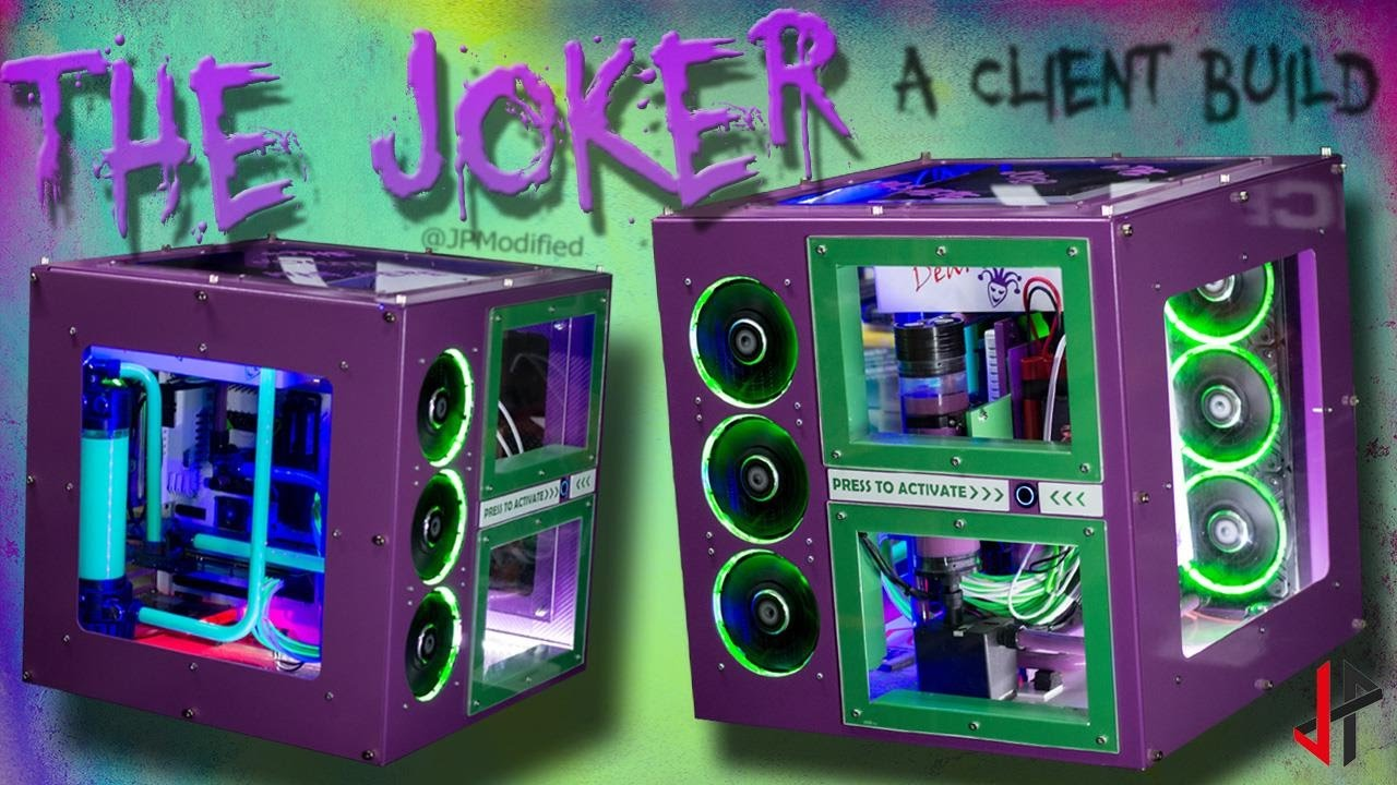 The Joker PC: a client build (reupload) - YouTube