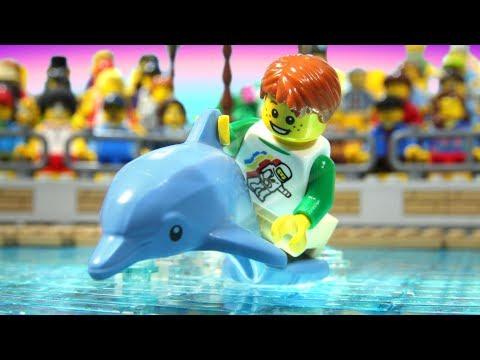 Lego Dolphin Show