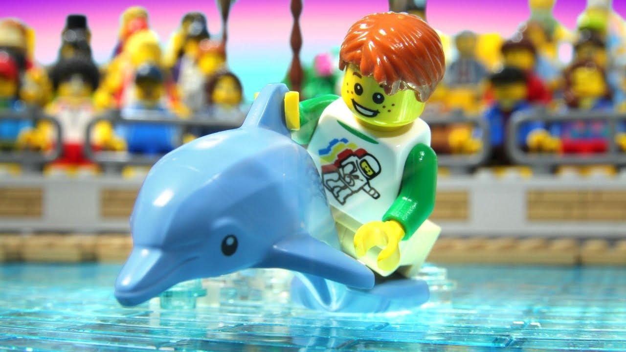 Lego Dolphin Show Youtube