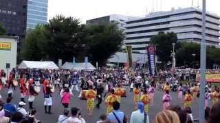 中野チャンプルーフェスタ2015  沖縄エイサ