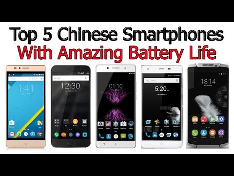 Top 5 Chinese Smartphones With Amazing Battery Life