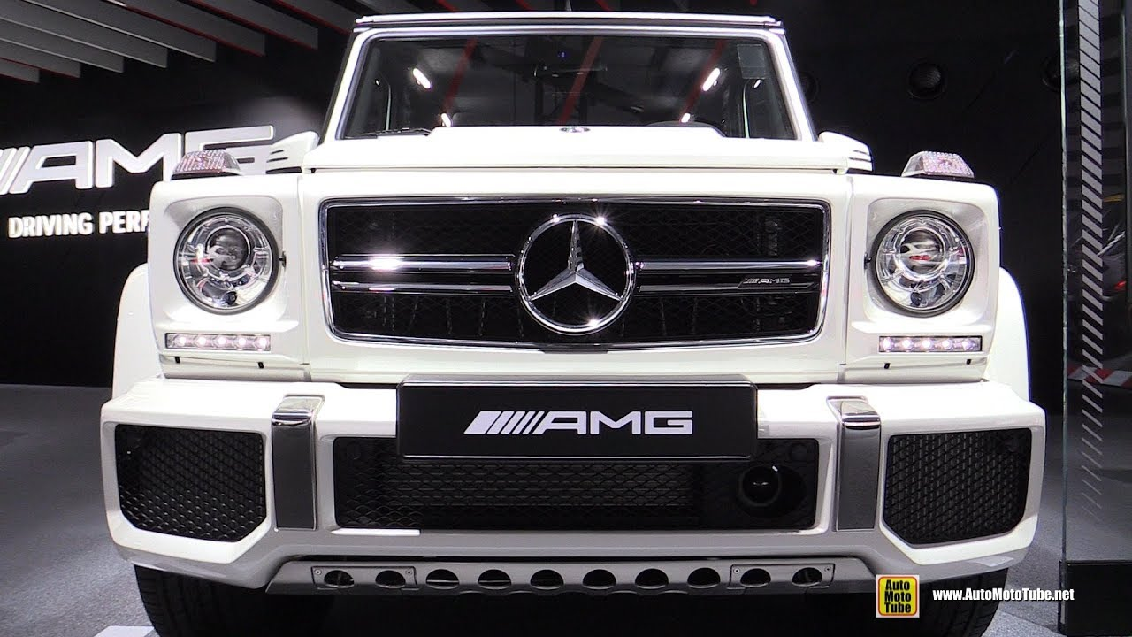 Mercedes G63 2018 >> 2018 Mercedes Amg G63 Exclusive Edition Exterior Interior
