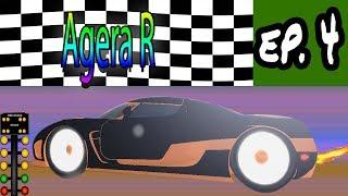 [Roblox: Vehicle Simulator] (Agera R) MAX DRAG RACING EVERY CAR | Ep. 4