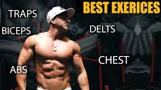 THE BEST EXERCISES FOR GROWTH: Chest, Back, Arms, &  MORE! (Ft. Vitruvian Physique)