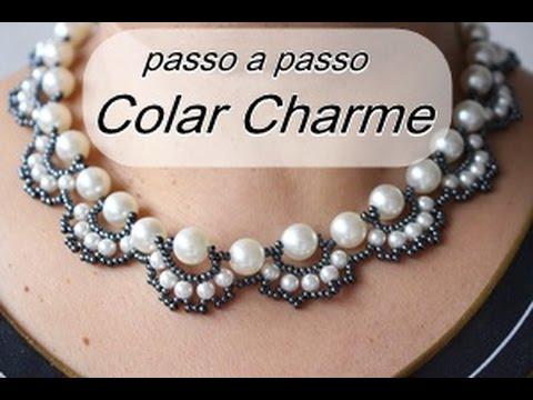 NM Bijoux - Colar Charme - passo a passo