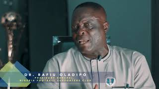 Dr. Rafiu Oladipo, President- General of NFSC on Tales of Our Legends.