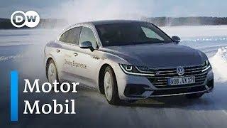 Im Eis: VW Arteon | Motor mobil