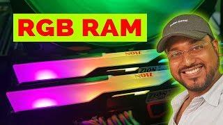 Made in India RAM. ZION BLAZE RGB RAM Review