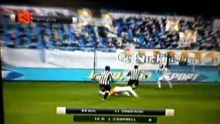 PES 2011 - Brett Ormerod vs Juventus