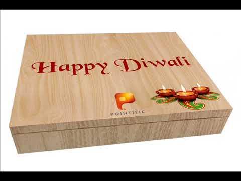 HAPPY DIWALI WITH CUSTOMIZED CHOCOLATE BOX