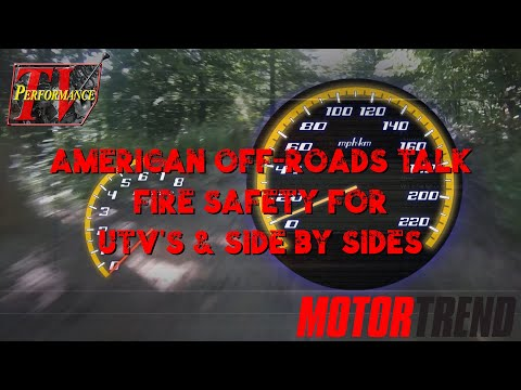 American Off-Roads Introduce a Fire Safety Product For UTV's & Side by Sides.