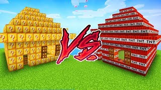 LUCKY BLOCKS HAUS VS TNT HAUS!