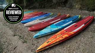 2021 Aqua Marina iSUP range overview / SUPboarder review video