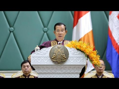 2018 06 19 PM Hun Sen Presides Over the Title Conferment for 8 Senior Government Officials