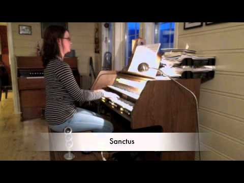 Viscount Vivace 30 - Liturgiske ledd, Sandwall, Audnedal version