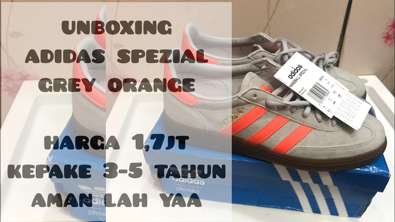 Unboxing Adidas Spezial Handball Grey