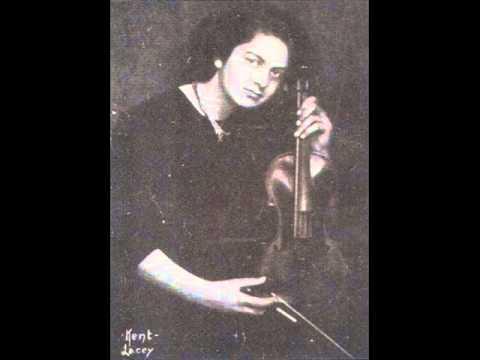 Isolde Menges Beethoven Violin Sonata in A Op.47 Kreutzer (1-3)