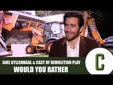 Jake Gyllenhaal and the Cast of 'Demolition' Play Would You Rather