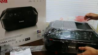 ⋆⋆⋆⋆⋆ Canon PIXMA MX922 Unboxing & Review