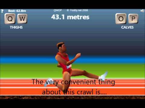 QWOP - Guide and Strategy for 100m