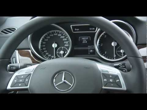 Mercedes 2013 GL 350 Interior And Road HD Trailer