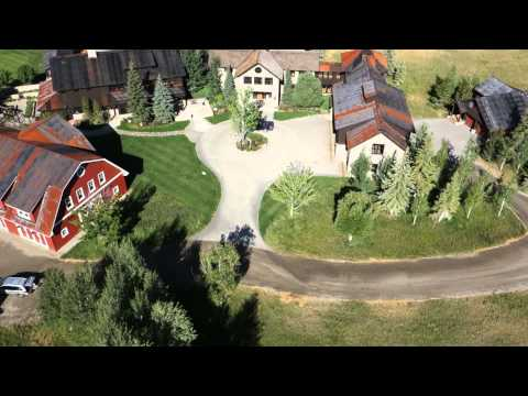 86 Gimlet Road in Ketchum Idaho. Video shot with Turbo Ace Matrix quad with Sony RX100