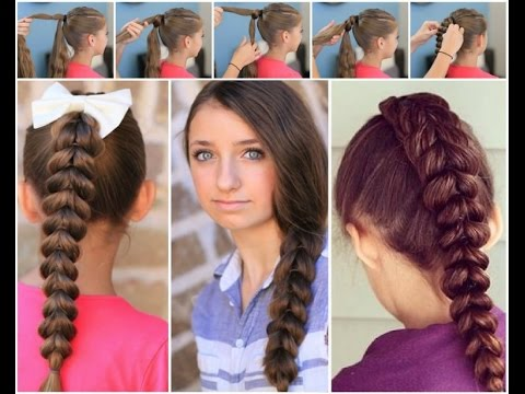 How to make hairstyles for school || easy hairstyles to do ...