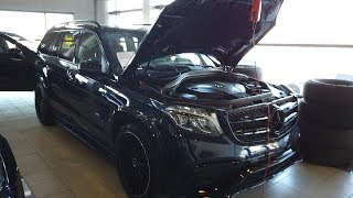 Цена ошибки 4 миллиона рублей! Mercedes GLS 2017 год!