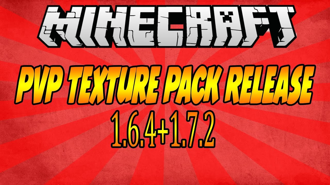 Minecraft PvP Texture Pack Release #1 1.6.4+1.7.2 - YouTube