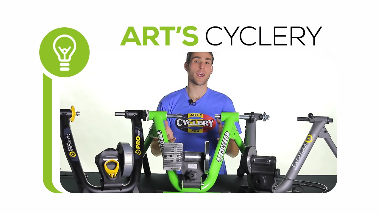 magnetic vs fluid bicycle trainers youtube
