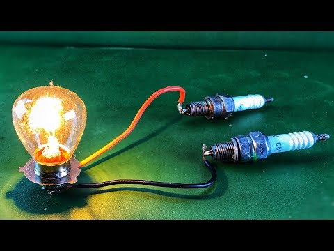 Get Free Energy Electric Using Spark Plug Creative Technology At Home