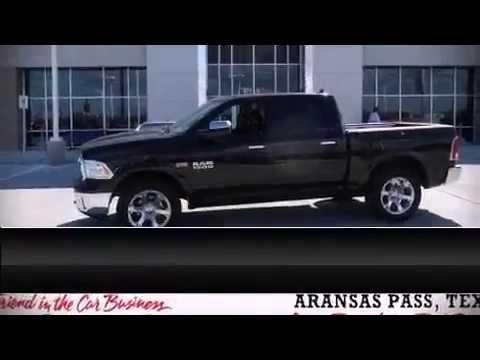 New 2014 Black Ram 1500 Crew Laramie 4X4 For Sale Dodge Dealer Near Corpus Christi,TX.