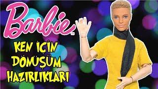 Eklemleri hareketli ken hangi Ünlüye dönüşecek? barbie ken dönüşüm hazırlıkları!! bidünya oyuncak