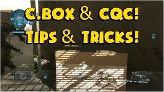 [Metal Gear Online 3] - C. Box & CQC! Tips & Tricks!