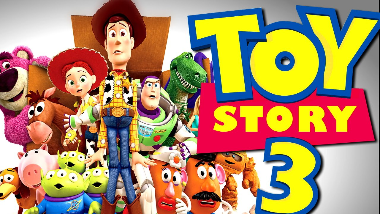 toy story 3 full story walkthrough disney video game hd