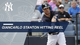 Giancarlo Stanton launches a pair of doubles