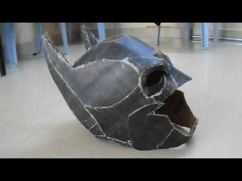 DIY BatMan Mask(Helmet)!!Cosplay Summer!! Episode 3 - Gulli Boizz