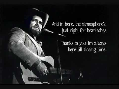 Merle Haggard - Swinging Doors [Lyrics]