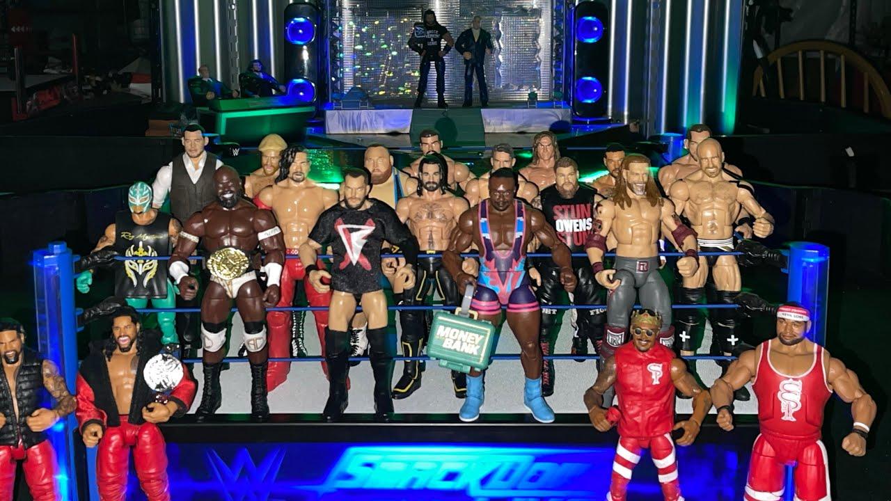 WWE 20 Man Battle Royal - Smackdown Meltdown - Roman Reigns, Finn Balor, Big E, Edge, Seth Rollins