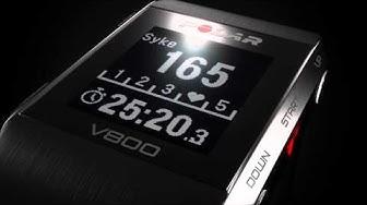 Polar V800 GPS-urheilukello - muotoilustaan palkittu