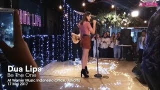 Dua Lipa - Be The One (Live at Warner Music Indonesia)