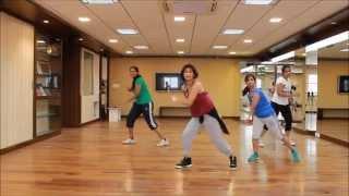 zumba choreo by vijaya on the track personally by p square
