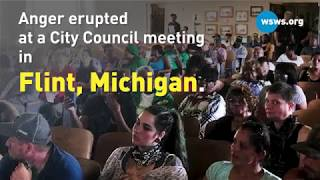 Anger erupts at Flint City Council meeting